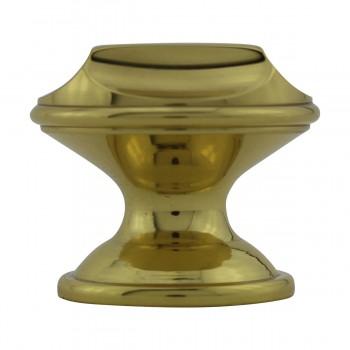 <PRE>6 Cabinet Knob Bright Solid Brass 1 1/4inch Dia </PRE>zoom8