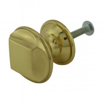 <PRE>6 Cabinet Knob Bright Solid Brass 1 1/4inch Dia </PRE>zoom9