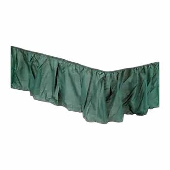 <PRE>Dust Ruffle Green 14&quot; Drop Bed Dust Ruffle </PRE>