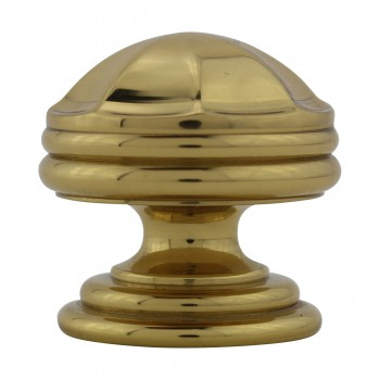 <PRE>6 Cabinet Knob Bright Brass 1 1/4inch Dia Octagonal </PRE>zoom10