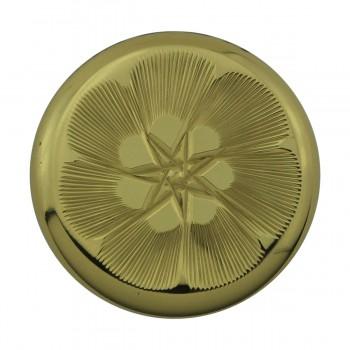 <PRE>6 Cabinet Knob Bright Solid Brass 1 1/4inch Dia </PRE>zoom5