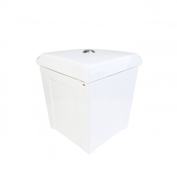 <PRE>Corner Tank Toilet Elongated Green Gold Painted</PRE>zoom8