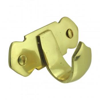 <PRE>2 Victorian Solid Brass Sash Lift </PRE>zoom9