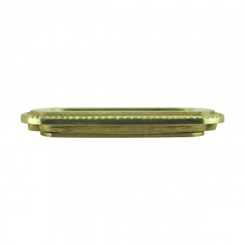 <PRE>2 Georgian Rope Recessed Sash Lift Bright Brass </PRE>zoom6