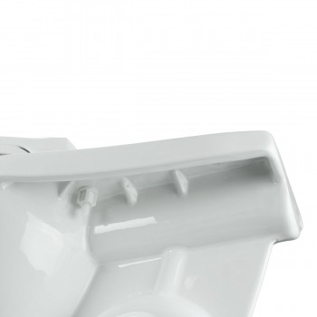 <PRE>White Porcelain Elongated Push Button Dual Flush Toilet with Seat Set of 2</PRE>zoom7