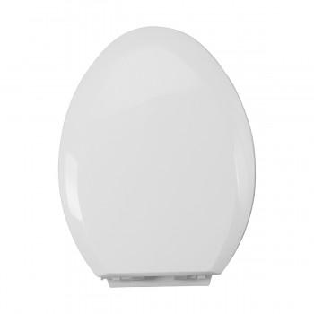 <PRE>White Porcelain Elongated Push Button Dual Flush Toilet with Seat Set of 2</PRE>zoom10