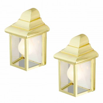 <PRE>2 Outdoor Lighting Bright Brass Light </PRE>zoom1