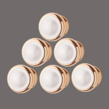 <PRE>6 Cabinet Knob Bright Solid Brass 1 1/4inch Dia </PRE>zoom2