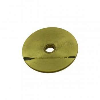<PRE>6 Cabinet Knob Rosettes Bright Solid Brass 1 1/4inch  </PRE>zoom5