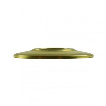 <PRE>6 Cabinet Knob Rosettes Bright Solid Brass 1 1/4inch  </PRE>zoom6