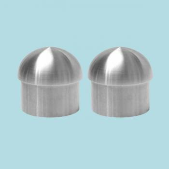 <PRE>2 Handicap Rail Or Boat Bar 2inch Domed End Cap Stainless Steel </PRE>zoom2