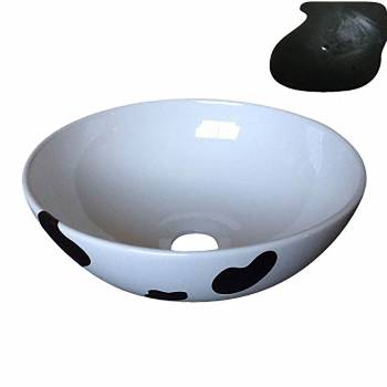 Above Counter Vessel Sink  Cow IMPERFECT Clearance Sale  31672grid