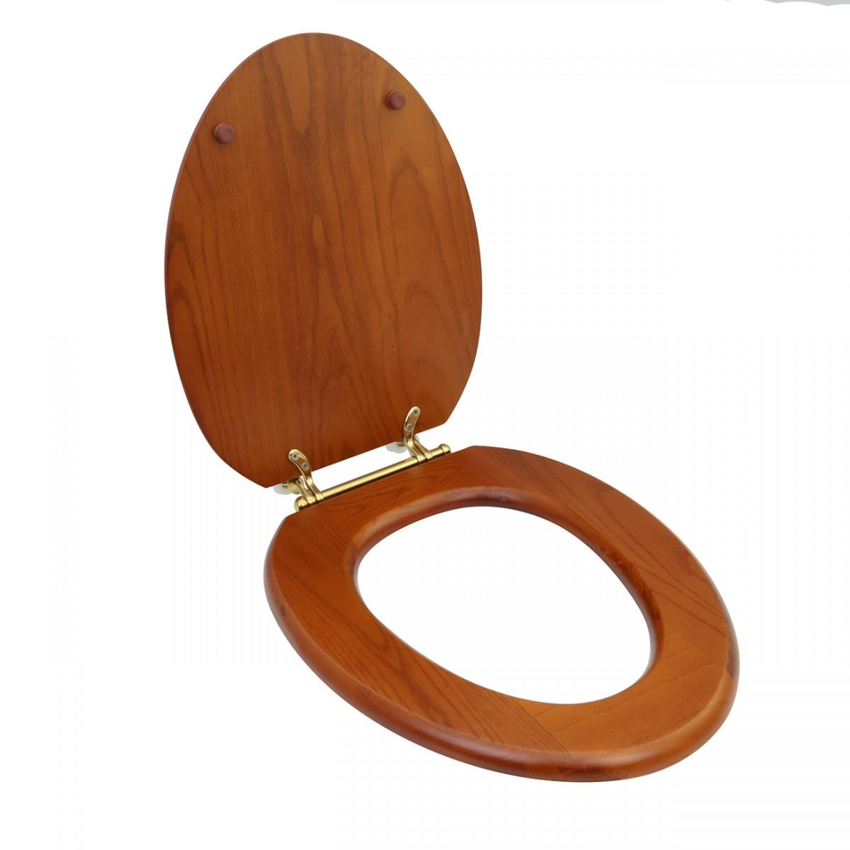 Toilet Seat Elongated Toilet Seat Hard Wood Toilet Seat