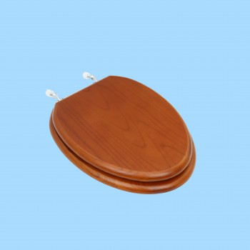 <PRE>Toilet Seats Elongated Lt Mahogany Hardwood Toilet Seat Chrome Hinge</PRE>zoom2