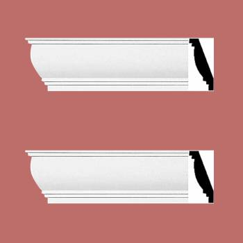 <PRE>2 Cornice White Urethane 4 1/4inch H Waterbury Simple Set of 2</PRE>zoom2