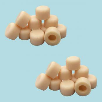 <PRE>20 Door Stop Bumper Tips Almond Silicone Rubber Set of 20 </PRE>