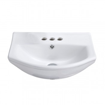 Renovators Supply Small Wall Mount Bathroom Sink White Porcelain Space Saving Small Wall Mount Bathroom Sink Wall Mount Bathroom Sink White wall hung Bathroom Sink