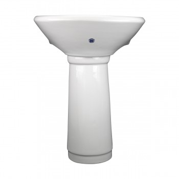 <PRE>Child China White Mini Porcelain Pedestal Sink Toddler Set of 2</PRE>zoom12