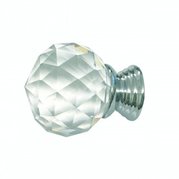 <PRE>Clear Glass Cabinet Knobs 30mm Round, 1.5 inch projection 20 pcs </PRE>zoom4