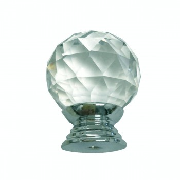<PRE>Clear Glass Cabinet Knobs 30mm Round, 1.5 inch projection 20 pcs </PRE>zoom6