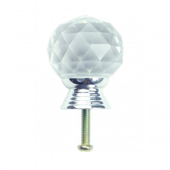 <PRE>Clear Glass Cabinet Knobs 30mm Round, 1.5 inch projection 20 pcs </PRE>zoom7