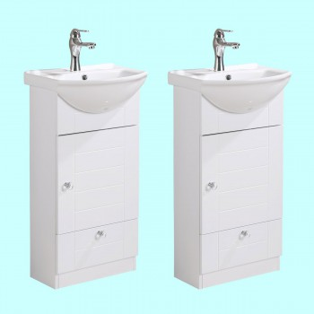 <PRE>Vitreous China Small Vanity Sink for Bathroom With Faucet Cabinets Pack of 2</PRE>zoom2