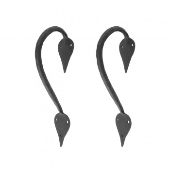 <PRE>2 9inch Door Handle Pull Wrought Iron &quot;Inverted Spade&quot; Design</PRE>zoom1