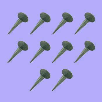 <PRE>2 1/4 Inch Iron Nails Round Clavos Wrought Iron Nails Pack Of 10</PRE>zoom2