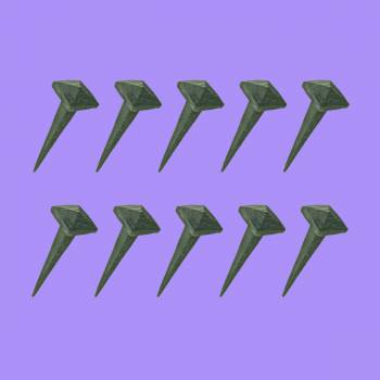 spec-<PRE>2.5 Inch Wrought Iron Nails Square Pyramid Clavos Nail Pack Of 10</PRE>