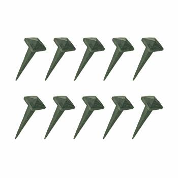 2.5 Inch Wrought Iron Nails Square Pyramid Clavos Nail Pack Of 10 Iron Nails Clavos Nails Wrought Iron Nails