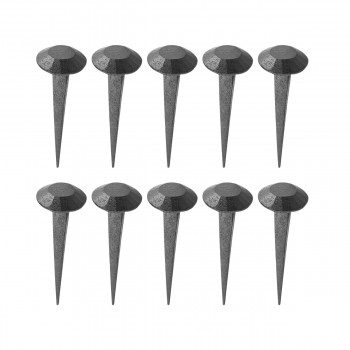 2.75 Inch Round Iron Nails Clavos Wrought Iron Nails Pack Of 10 Iron Nails Decorative Clavos Nail Wrought Iron Nails
