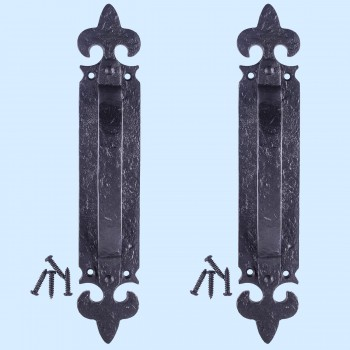 <PRE>10 1/4inch Door Pull Handle &quot;Saint&quot; Design Pack of 2</PRE>zoom2