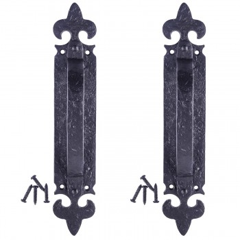 <PRE>10 1/4inch Door Pull Handle &quot;Saint&quot; Design Pack of 2</PRE>zoom1