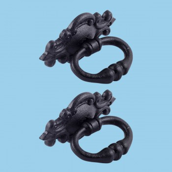 <PRE>3 1/8inch Ornate Drawer Ring Pull Pack of 2 </PRE>zoom2