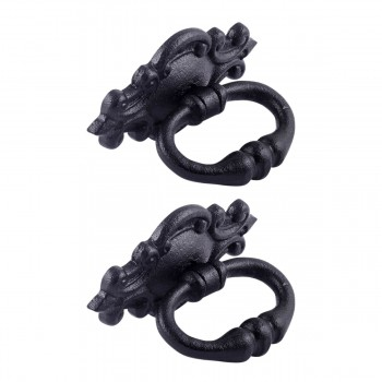 <PRE>3 1/8inch Ornate Drawer Ring Pull Pack of 2 </PRE>zoom1