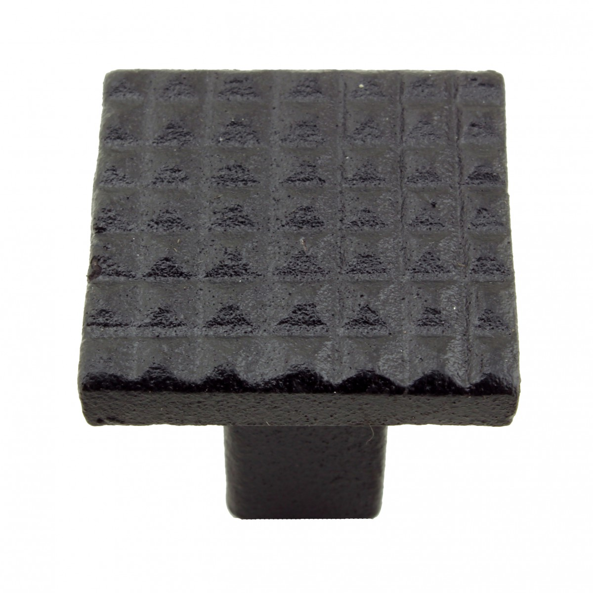Square Grid Iron Cabinet Knob Black Pack of 2 Cabinet Knob Iron Cabinet Knob Cabinet Knob Black