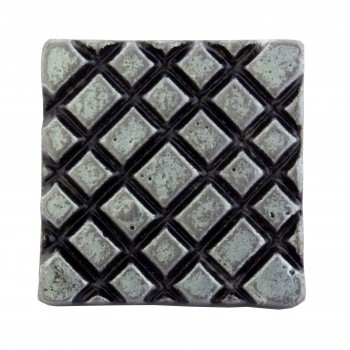 <PRE>Iron Cabinet Knob Pewter Finish Square Diamond Cabinet Hardware Pack of 2</PRE>zoom6