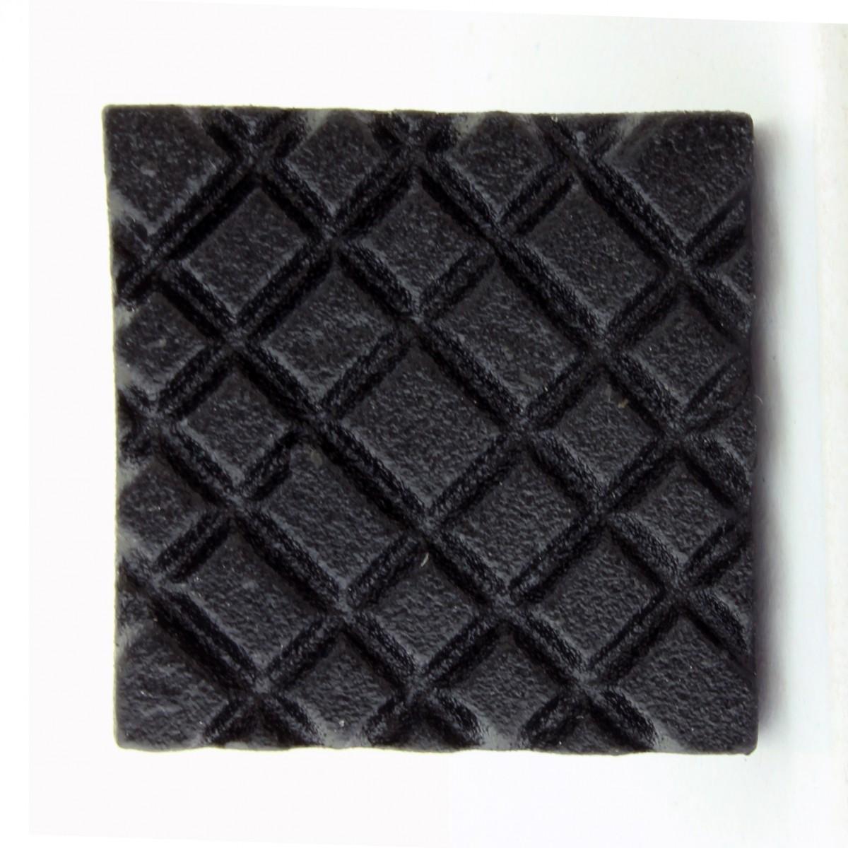 Square Diamond Grid Iron Cabinet Knob Black Pack of 2 Cabinet Knob Iron Cabinet Knob Cabinet Knob Black