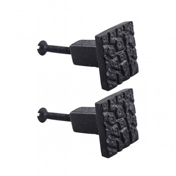 <PRE>Cobble Stone Design Cabinet Hardware Square Iron Cabinet Knob Black Pack of 2</PRE>zoom1
