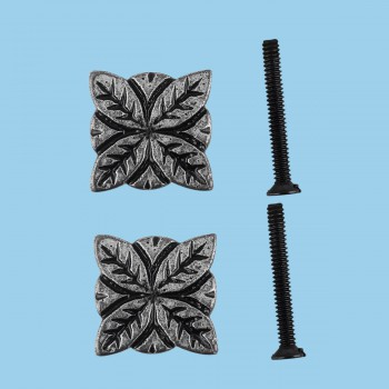 <PRE>Flower Iron Cabinet Knob Pewter Finish Cabinet Hardware Pack of 2</PRE>zoom2