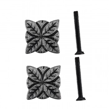 <PRE>Flower Iron Cabinet Knob Pewter Finish Cabinet Hardware Pack of 2</PRE>zoom1