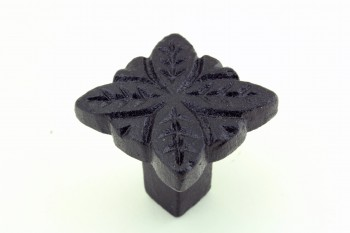 <PRE>Flower Cabinet Hardware Iron Cabinet Knob Black Pack of 2</PRE>zoom6