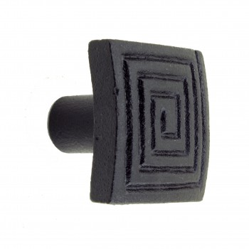 <PRE>Square Maze Cabinet Hardware Iron Cabinet Knob Black Pack of 2</PRE>zoom3