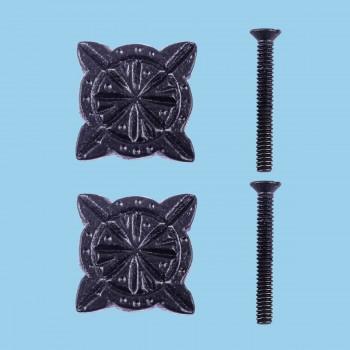 <PRE>Iron Cabinet Knob Black Target Design Cabinet Hardware Pack of 2</PRE>zoom2