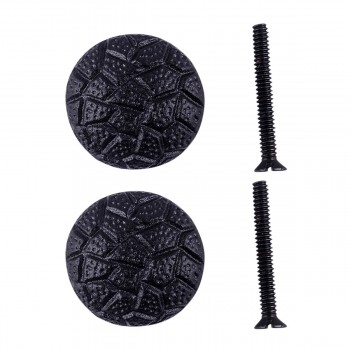 <PRE>Iron Cabinet Knob Black Round Cobble Stone Design Cabinet Hardware Pack of 2</PRE>zoom1