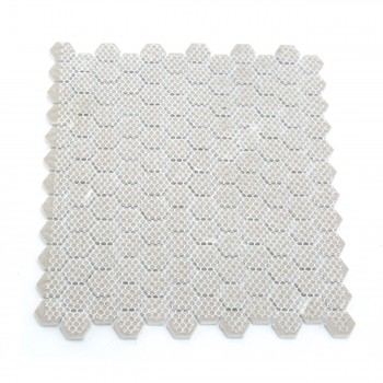<PRE>Porcelain Mosaic Hexagon Glossy White Floor and Wall Tile, 1 Tile 10.25inch x 11.8&quot;</PRE>zoom4