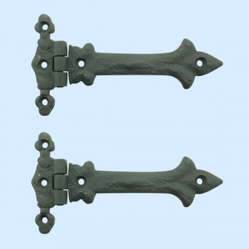 <PRE>5 Inch Black Wrought Iron Cabinet Hinge Strap Southern Charm Barn Pack of 2</PRE>zoom2