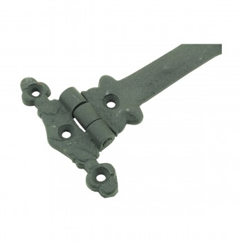 <PRE>5 Inch Black Wrought Iron Cabinet Hinge Strap Southern Charm Barn Pack of 2</PRE>zoom9