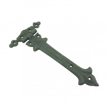 <PRE>9 Inch Wrought Iron Strap Hinge Southern Charm Rust Resistant Barn Pack of 2</PRE>zoom4