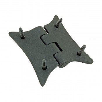 Cast Iron Butterfly Cabinet Hinge 2 3/8